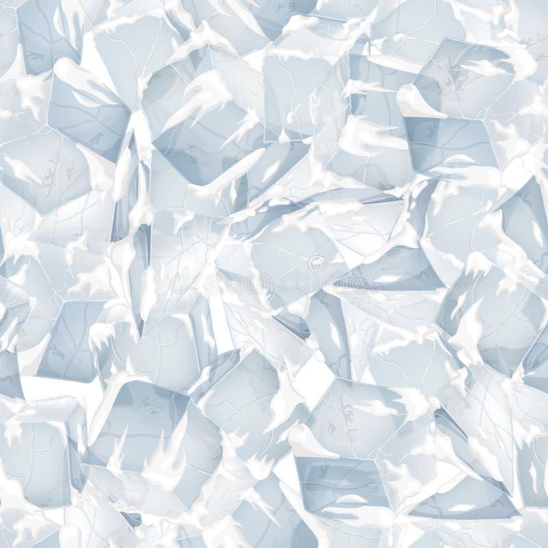Лед и поверхность снега бесплатная иллюстрация