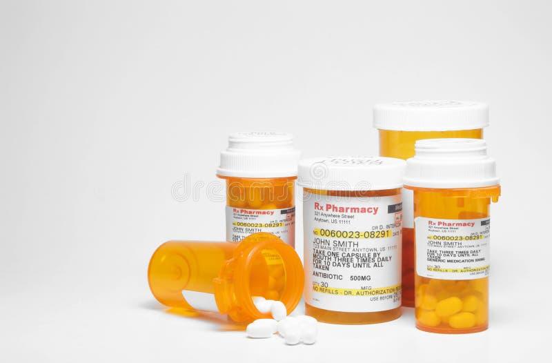 Лекарство рецепта стоковая фотография