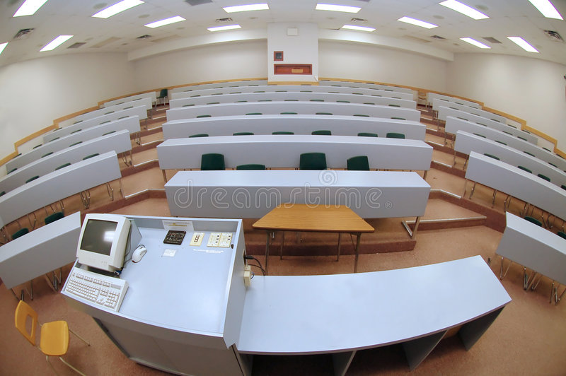 лекция по залы стоковая фотография rf