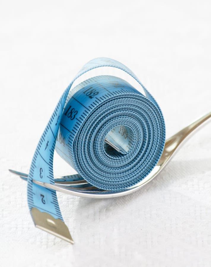 лента вилки измеряя стоковые изображения