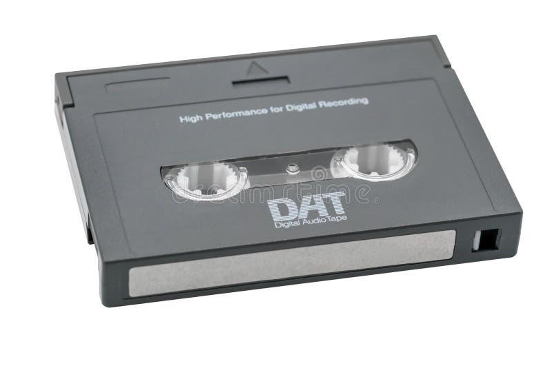 Лента звукозаписи цифров изолированная на белой предпосылке стоковые изображения