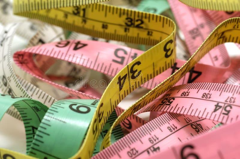 лента измерений стоковое фото