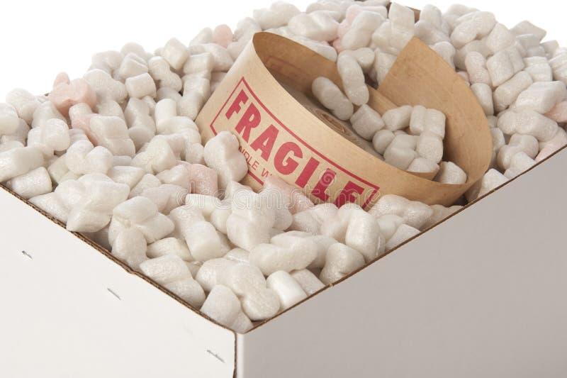 лента крена арахисов упаковки коробки утлая стоковое фото rf