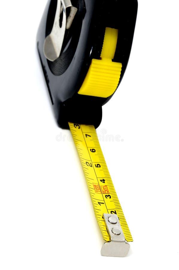 лента крена измерения вверх стоковая фотография rf