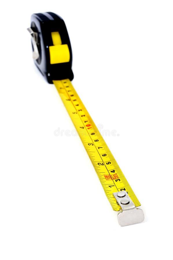 лента крена измерения вверх стоковое изображение