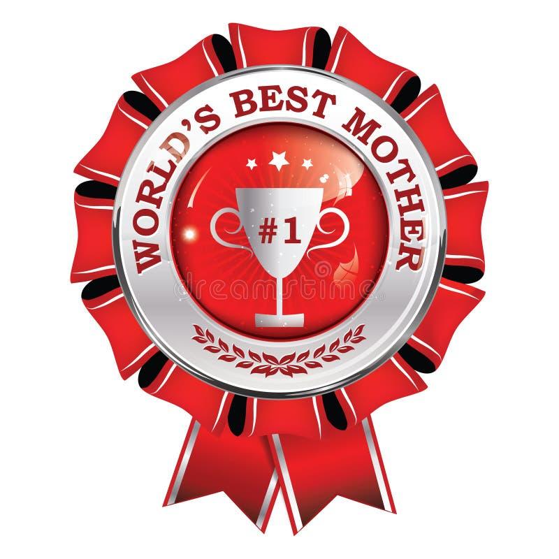 Лента награды самой лучшей матери ` s мира вечно- printable бесплатная иллюстрация