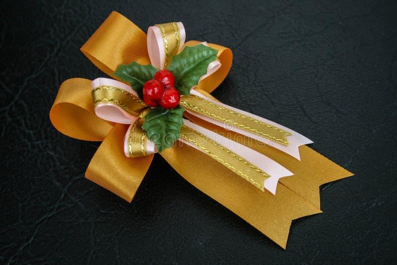 Лента на украшение i подарка стоковое фото rf