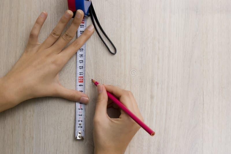 лента hans измеряя стоковые изображения rf