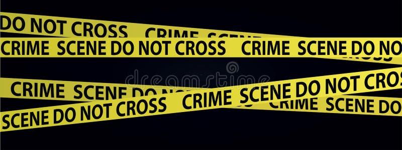 Ленты места преступления бесплатная иллюстрация