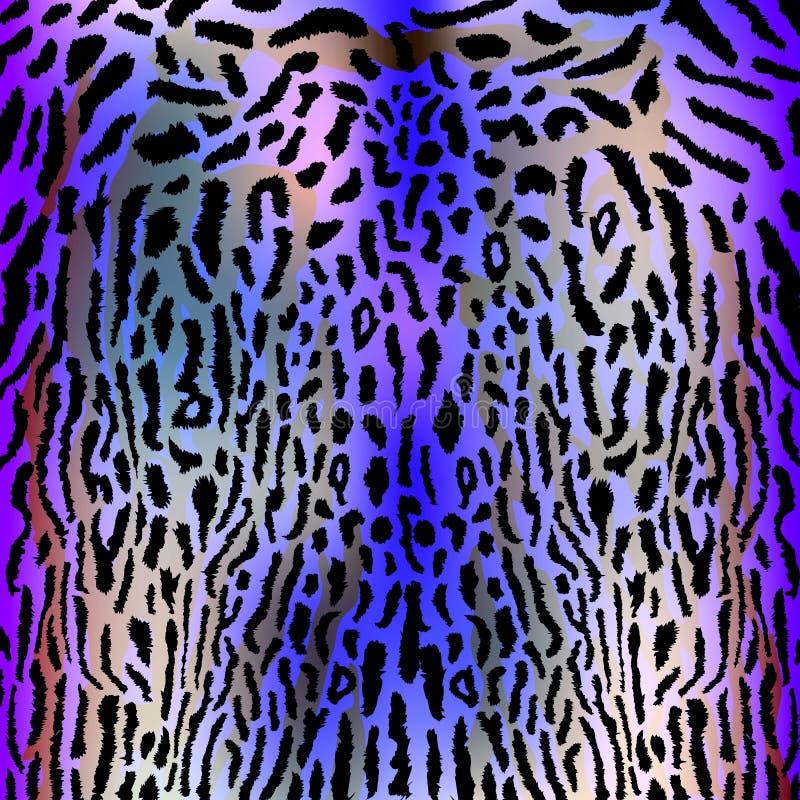 Леопард, предпосылка, животное, текстура, мех, сафари иллюстрация вектора