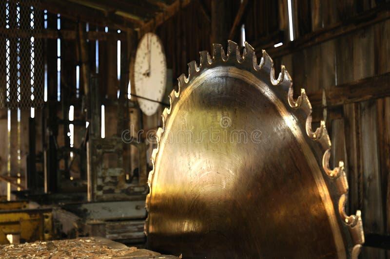 лесопилка стоковая фотография rf