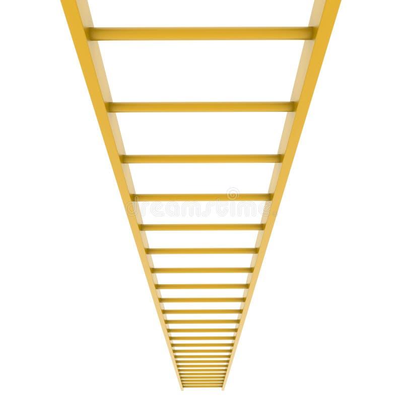 Лестница золота бесплатная иллюстрация