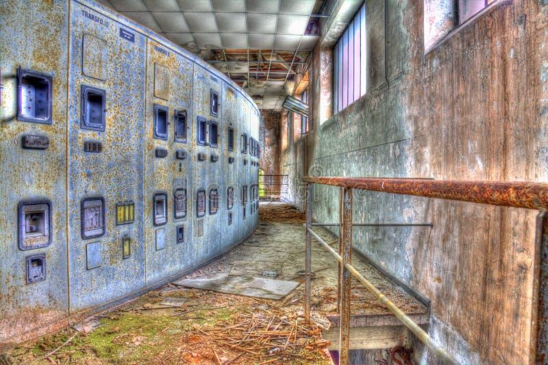 Лестница к электричеству стоковое фото rf