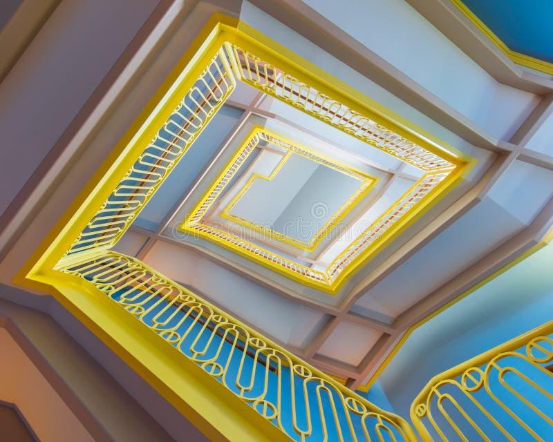 лестница причудливая стоковое фото