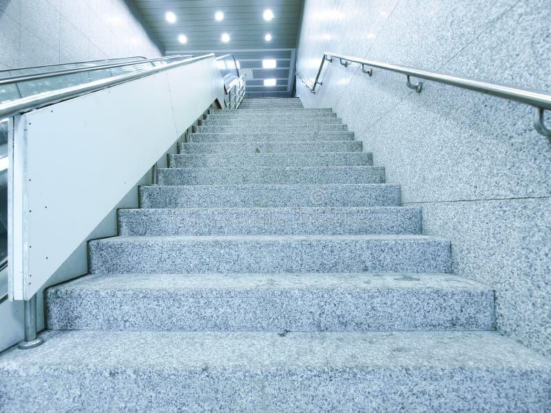 лестница прохода подземная стоковые фотографии rf