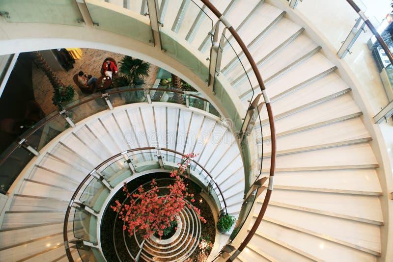лестница улитки стоковое изображение