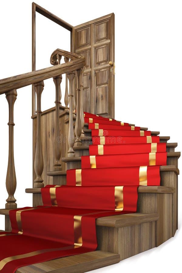 лестница иллюстрация штока