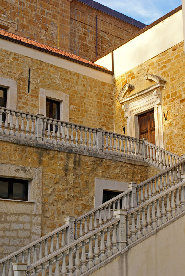лестница gattopardo стоковые изображения rf