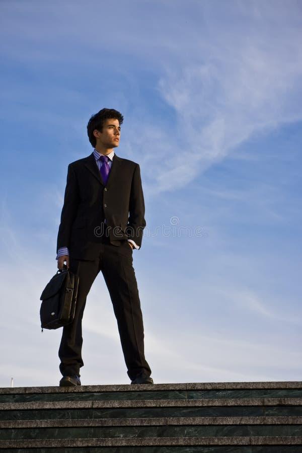 лестницы бизнесмена стоковые фото