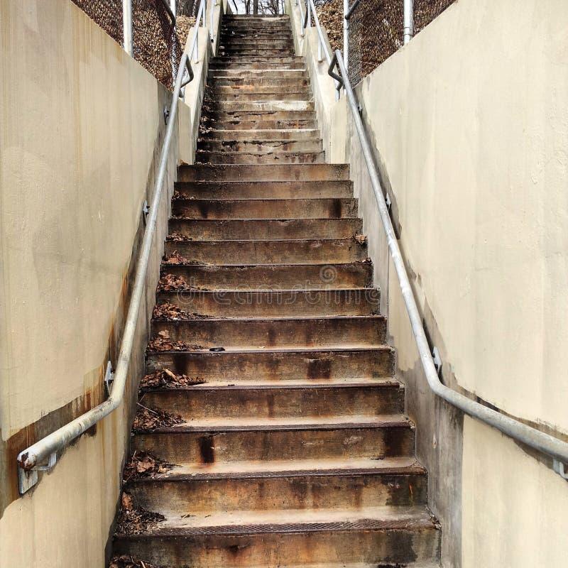 Лестницы водя для того чтобы установить Вашингтон Городская фотография стоковые фото