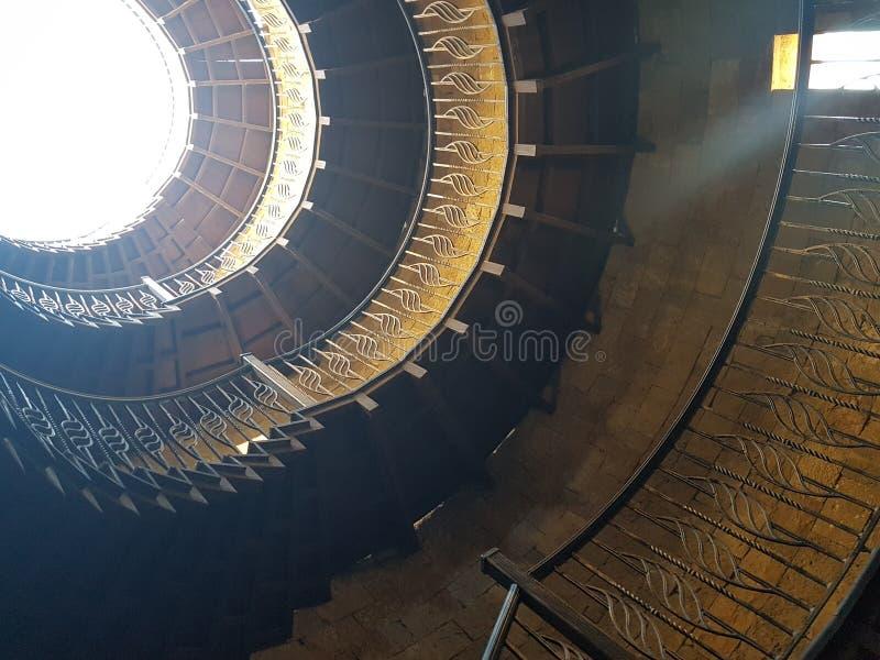 Лестницы замотки стоковая фотография