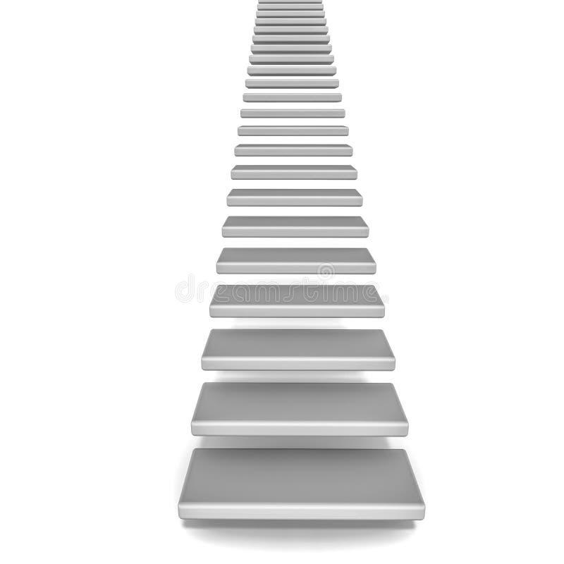 Лестницы идя вверх бесплатная иллюстрация