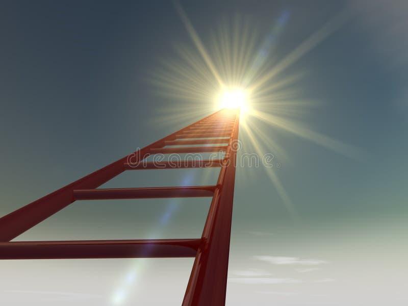 Лестницы к небу 2 стоковые изображения