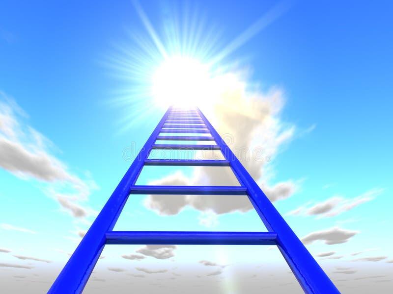 Лестницы к небу 3 стоковая фотография rf