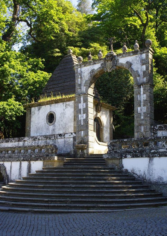 Лестницы к Bom Иисусу стоковая фотография rf