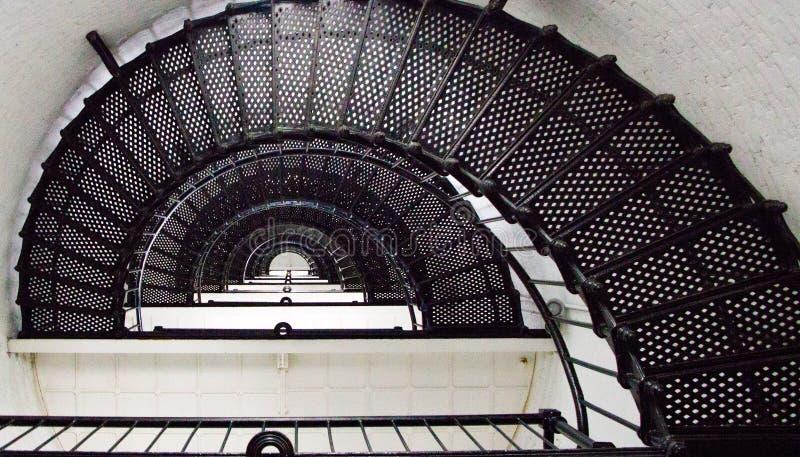 Лестницы маяка стоковая фотография