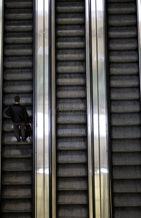 Лестницы механика внутренние стоковые фотографии rf