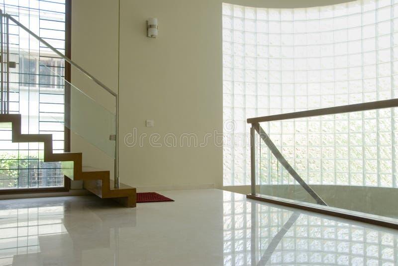 лестницы посадки зоны стоковые изображения