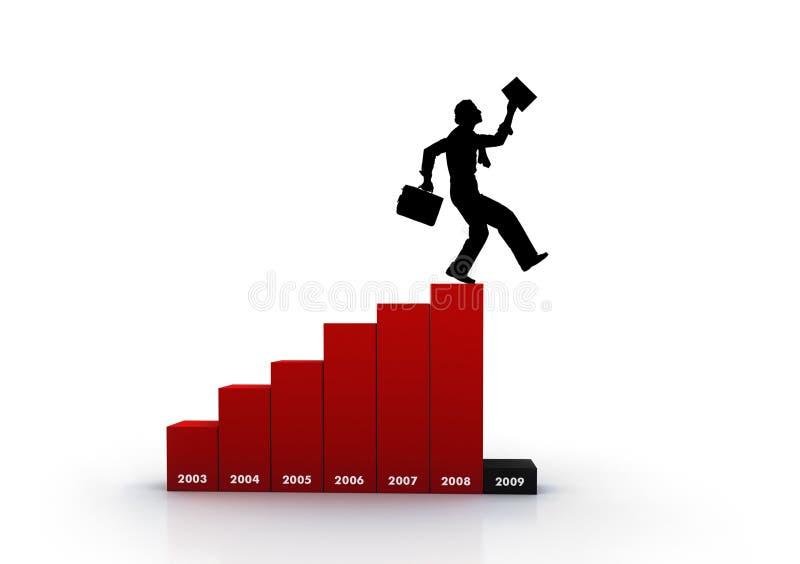 лестницы финансов стоковая фотография