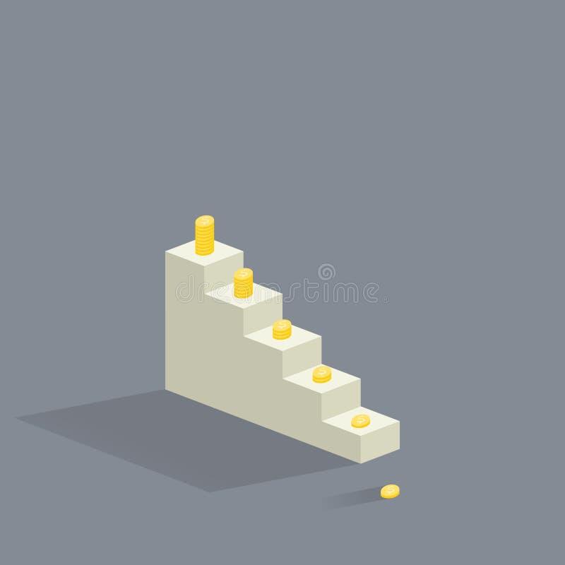 Лестницы иллюстрация штока