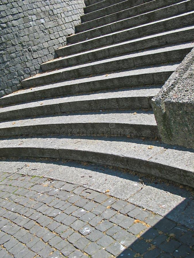 лестницы granit стоковые фотографии rf