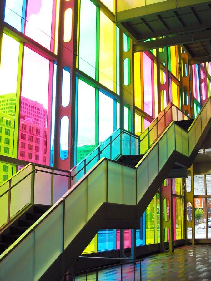 лестницы montreal съезда стоковые фотографии rf