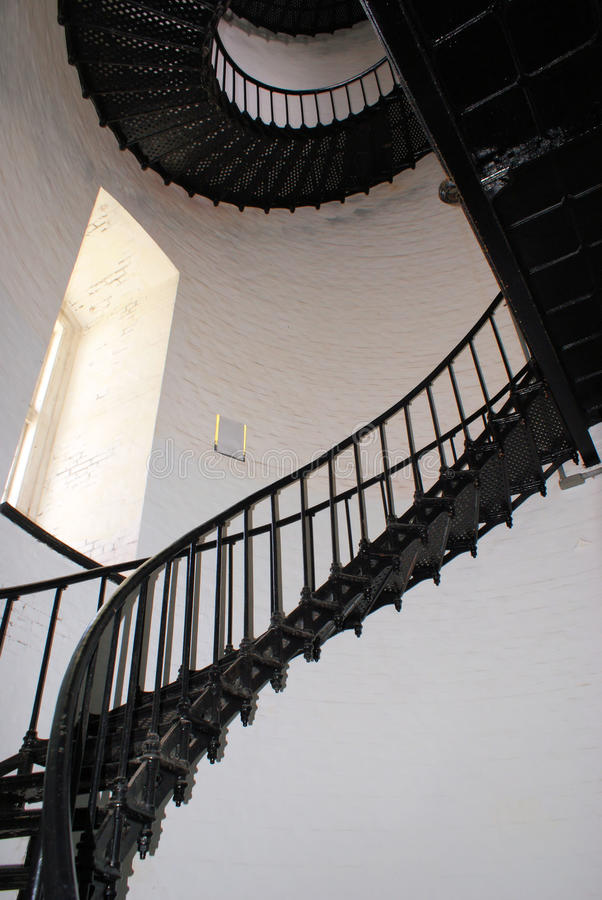 лестничный колодец острова bodie стоковая фотография rf