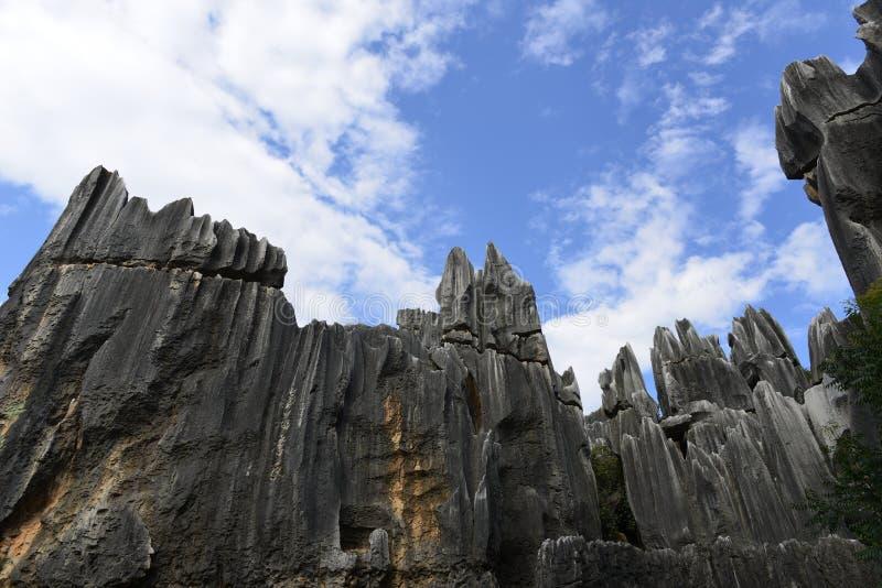 Лес камня Shilin в Kunming, Юньнань, Китае стоковые фото