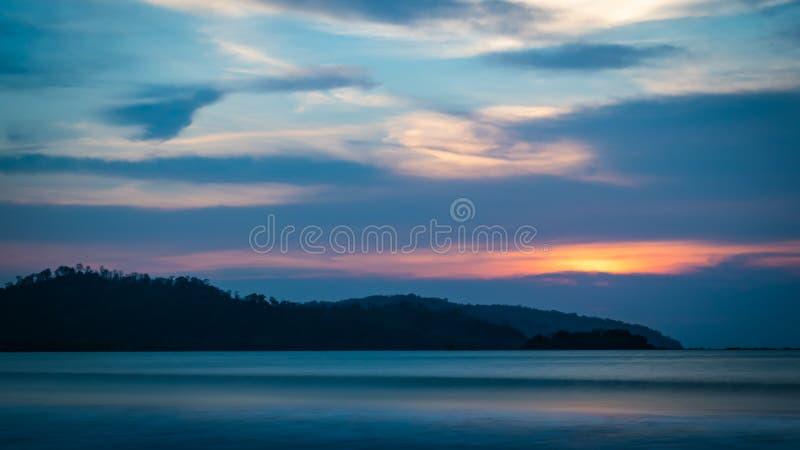 Лес Sodong в своей полной славе на Sukabumi, Индонезии стоковое фото