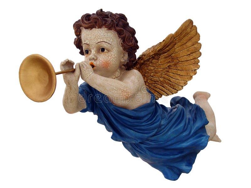 летание ангела немногая стоковая фотография