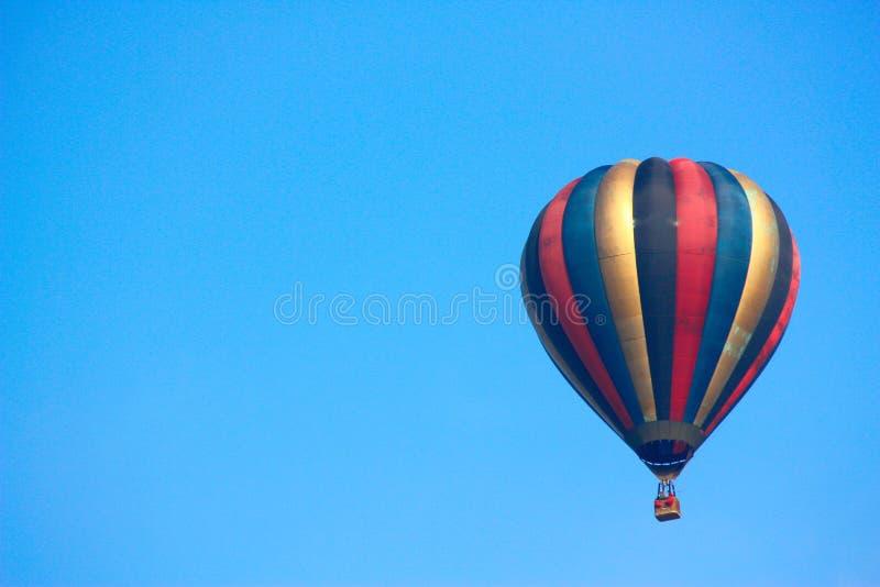 летание воздушного шара горячее стоковая фотография