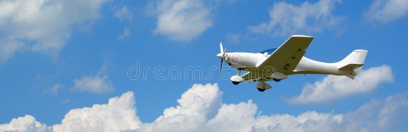 летание знамени воздушных судн стоковые изображения rf