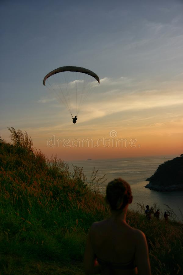 летание стоковое фото