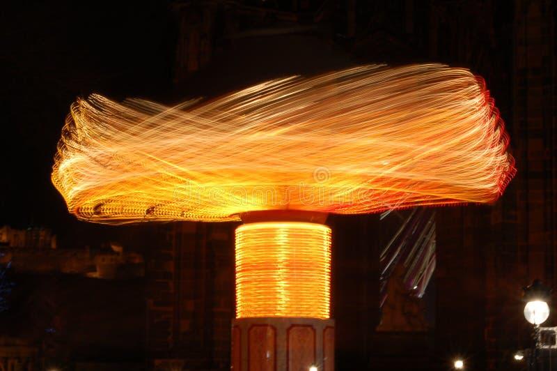 летание carousel стоковая фотография rf