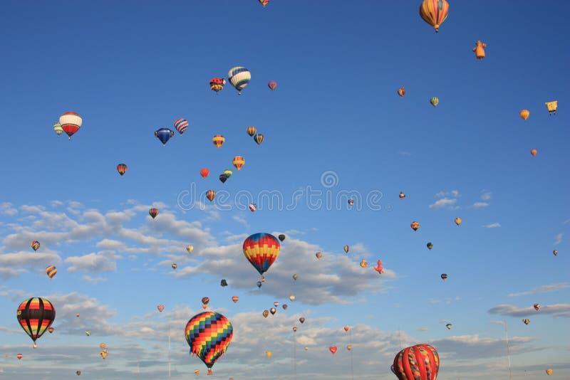 летать воздушных шаров стоковые изображения rf