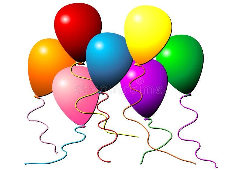 летать воздушных шаров бесплатная иллюстрация
