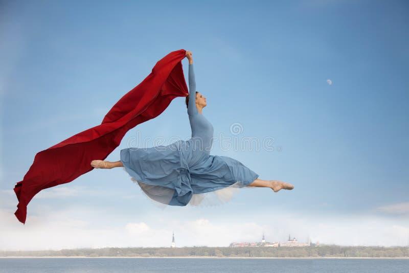 летать над tallinn стоковая фотография