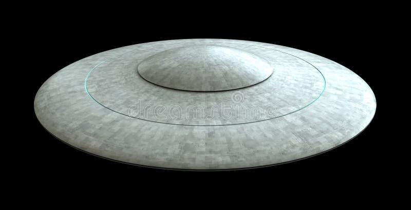 Летающие тарелки иллюстрация штока