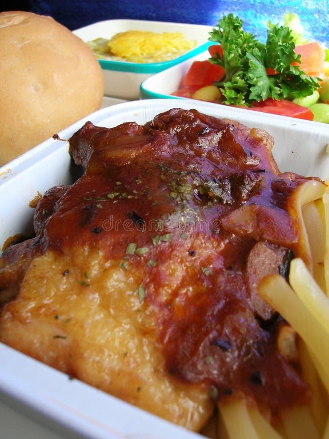 летная еда стоковое фото