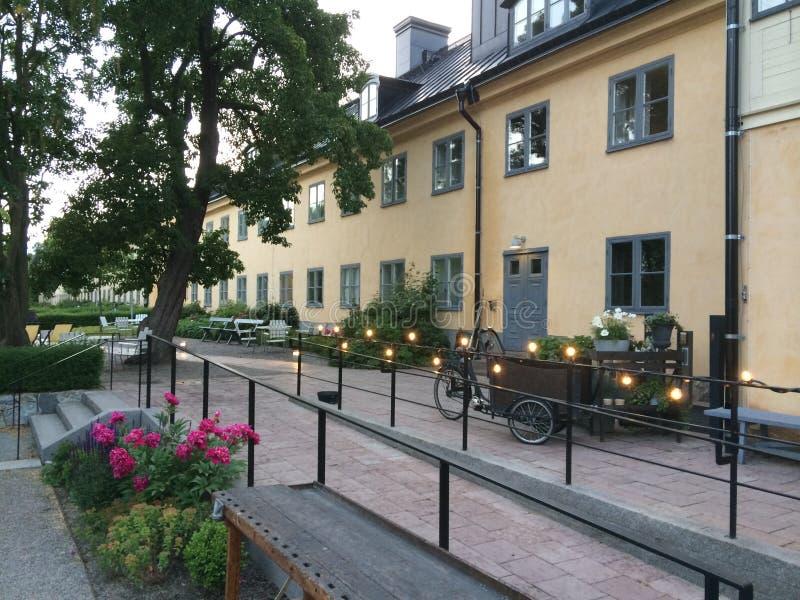 Летнее время в Стокгольме Швеции стоковые изображения rf